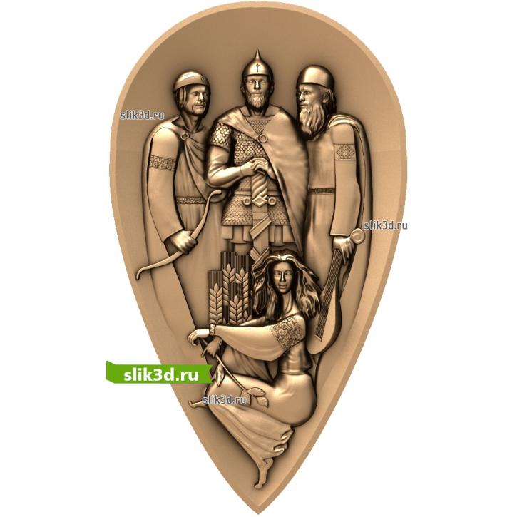 3D STL Основатели Киева