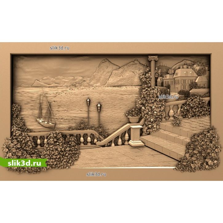 3D STL Пейзаж №15