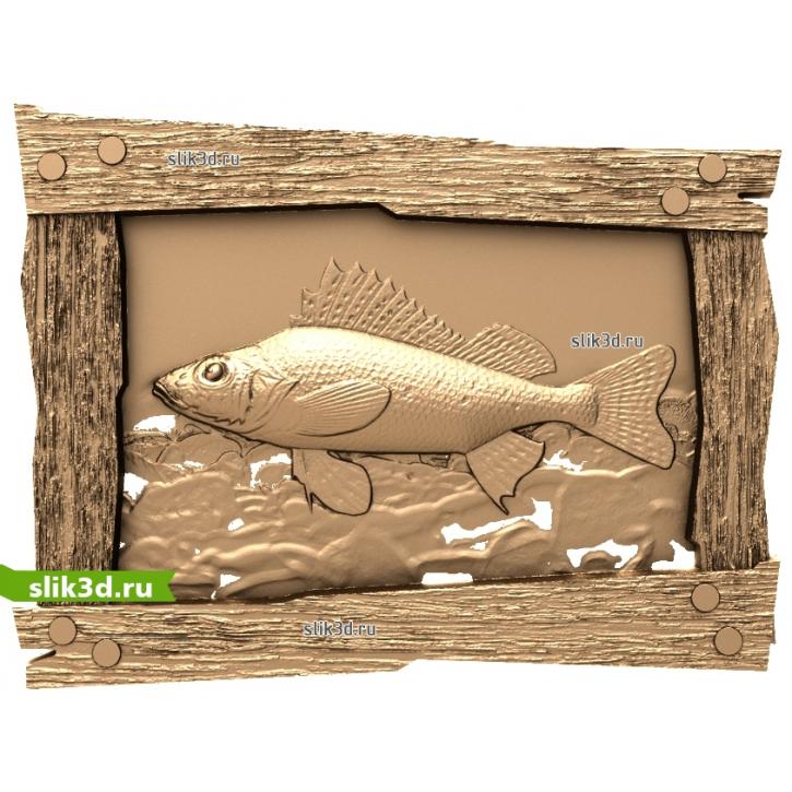 3D STL Рыбы №15