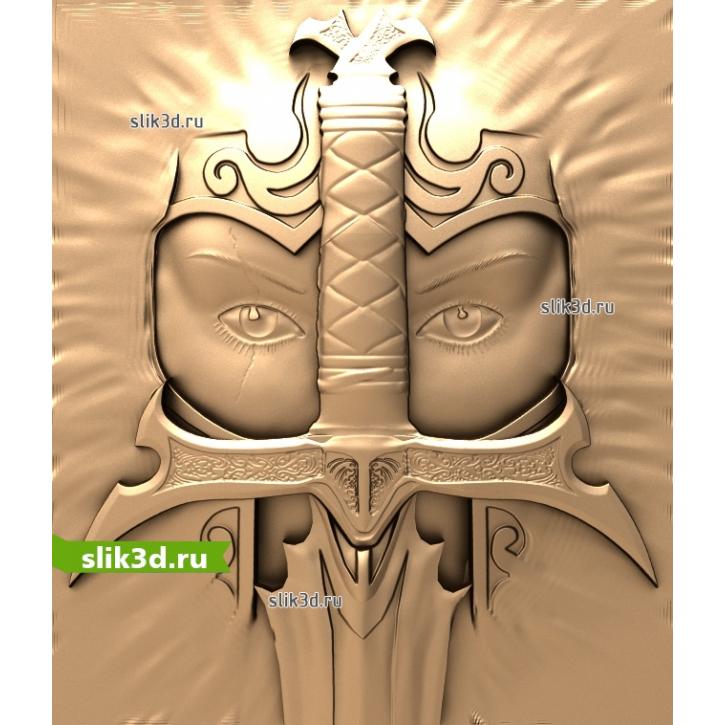 3D STL Рыцарь