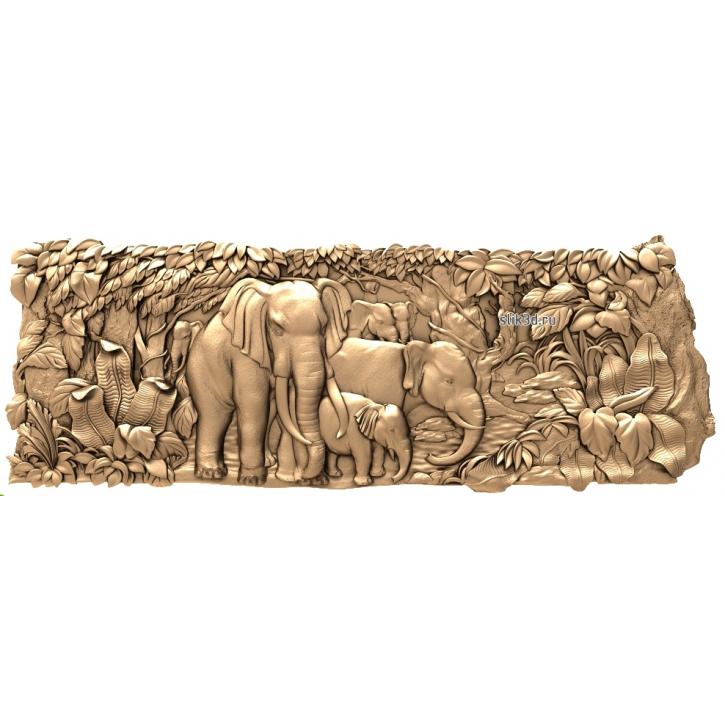 3D STL Слоны