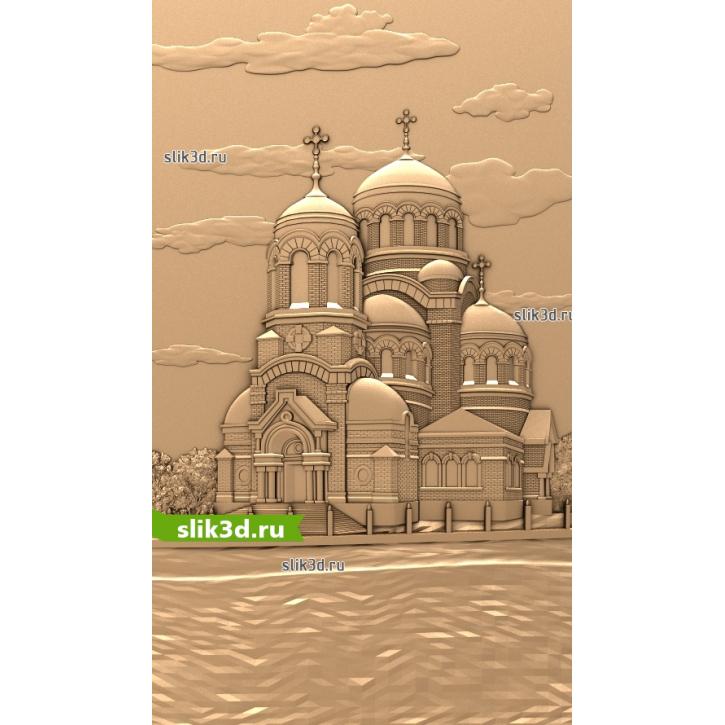 3D STL Церковь
