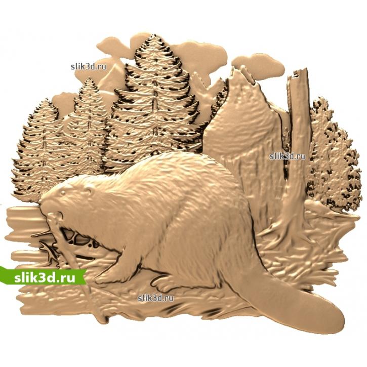 3D STL Бобёр