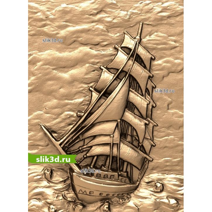 3D STL Корабль №16