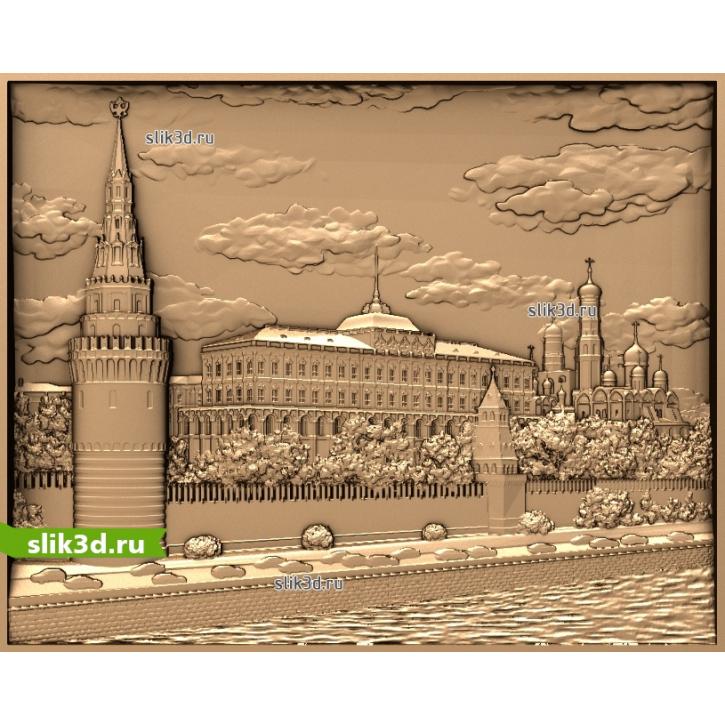 3D STL Кремлевская Набережная