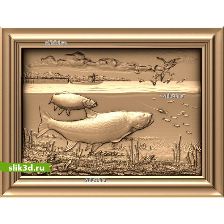 3D STL На Рыбалке