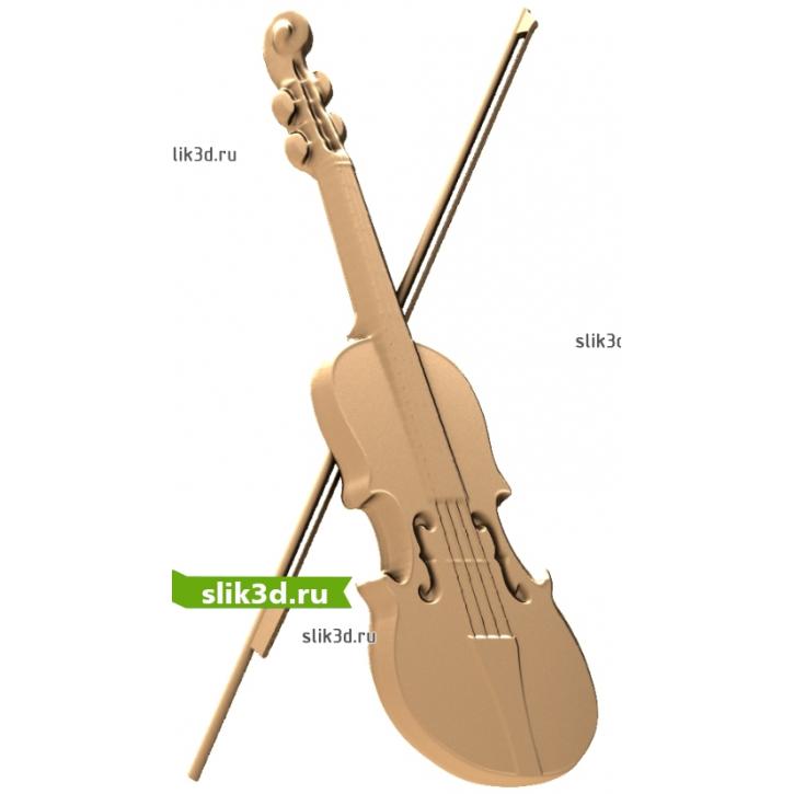 3D STL Скрипка