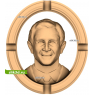 3D STL Джордж Буш