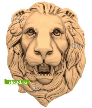 Голова льва №14