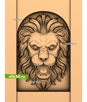 Голова льва №13