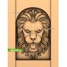 3D STL Голова Льва №13