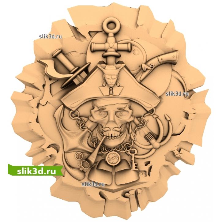 3D STL Пираты