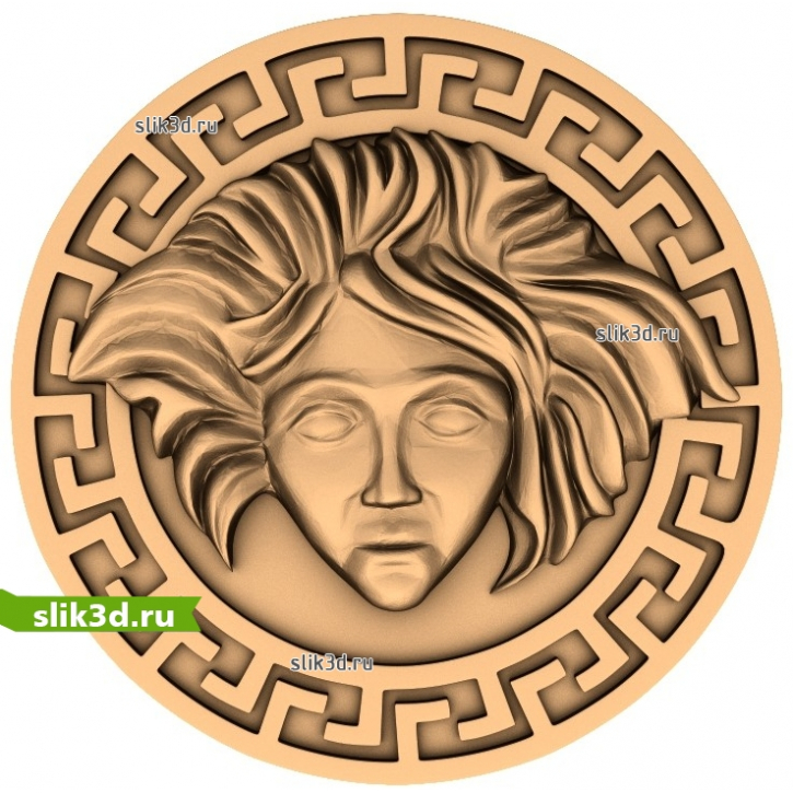 3D STL Медальон