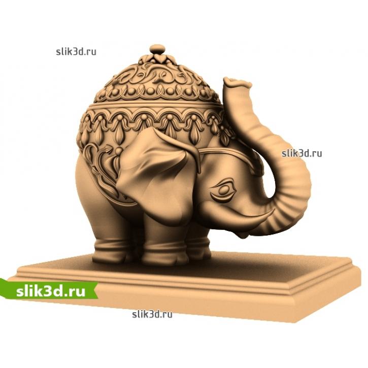 3D STL Слон