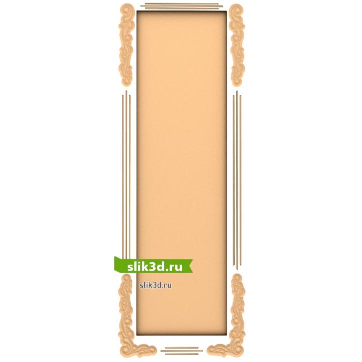 3D STL Рамка №136