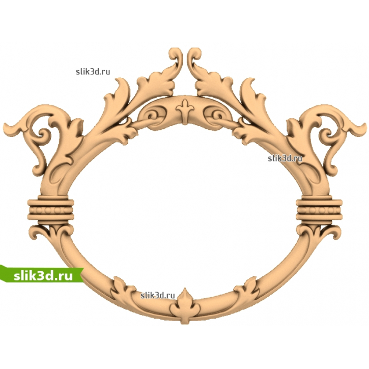 3D STL Рамка №161