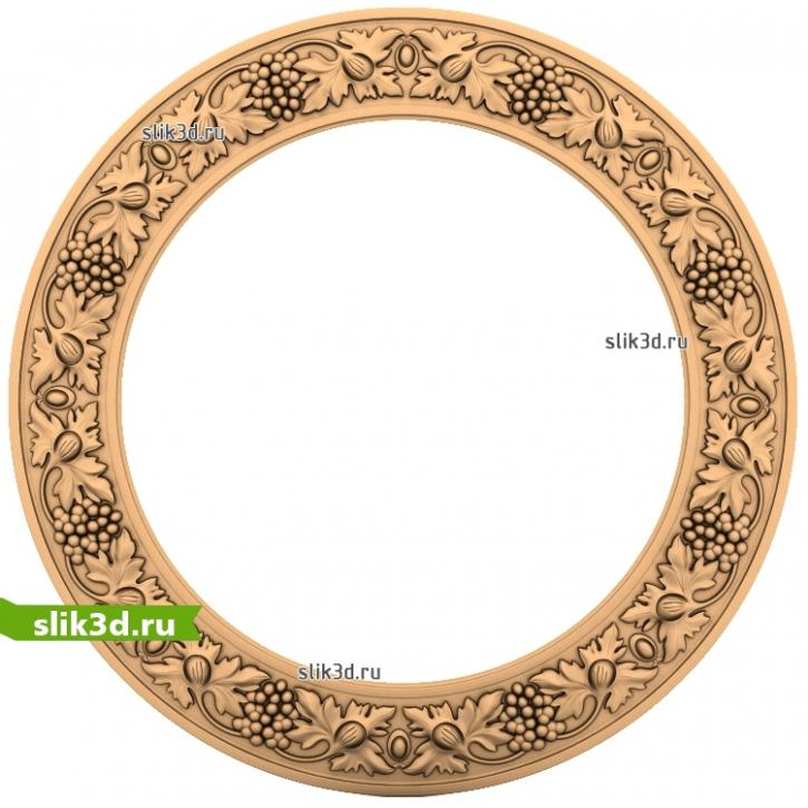 3D STL Рамка №169