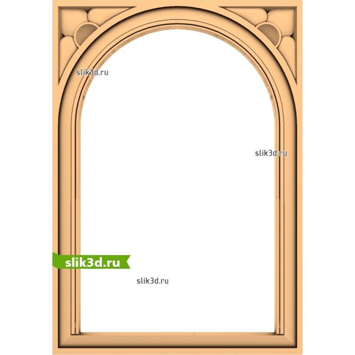 3D STL Рамка №55