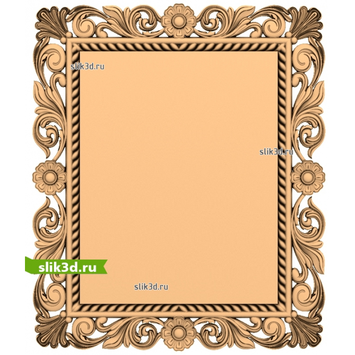 3D STL Рамка №72