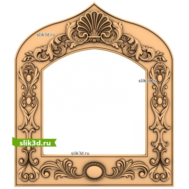 3D STL Рамка №85