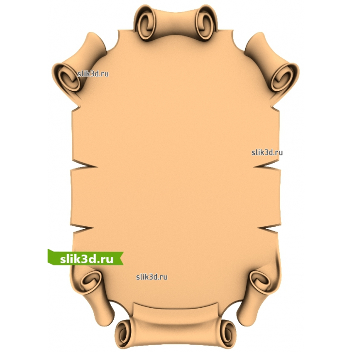 3D STL Рамка №91