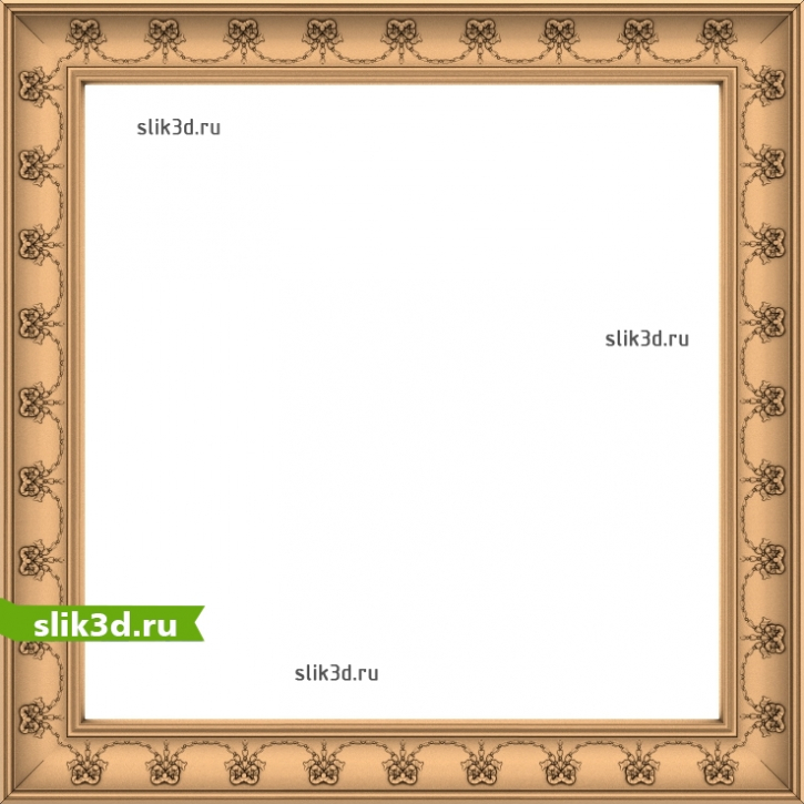 3D STL Рамка №111