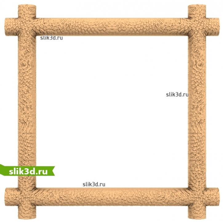 3D STL Рамка №115
