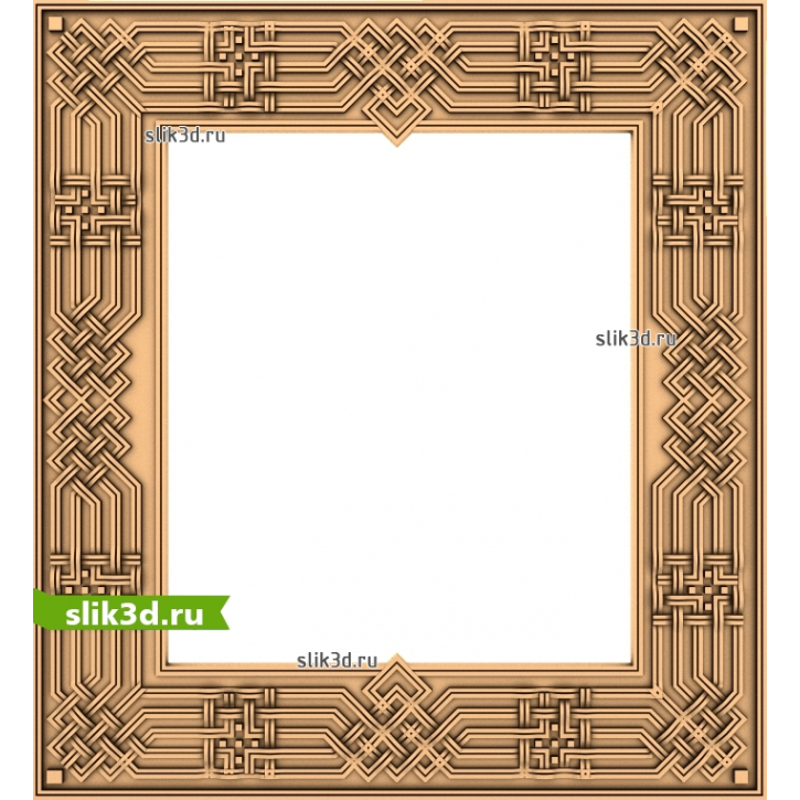 3D STL Рамка №137