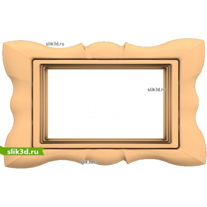 3D STL Рамка №141