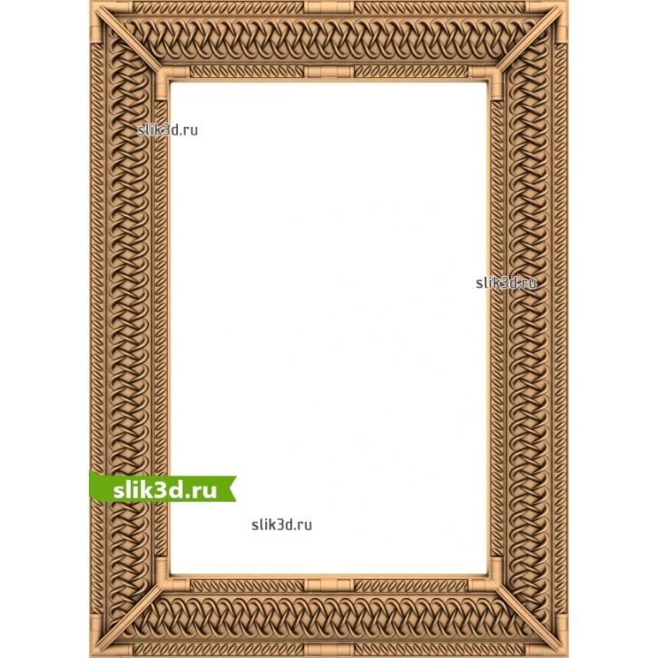3D STL Рамка №145