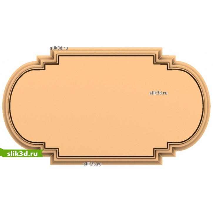 3D STL Рамка №148