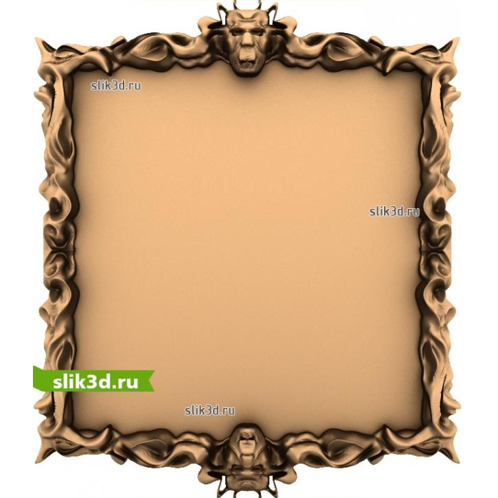 3D STL Рамка №153
