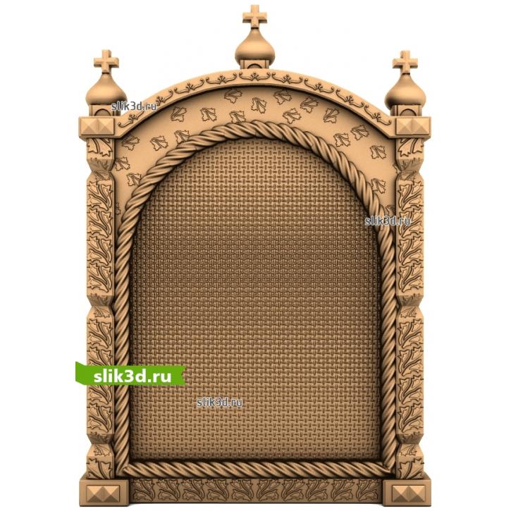 3D STL Рамка №158