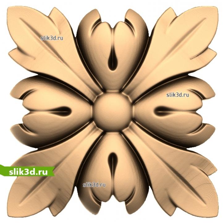 3D STL Розетка №53