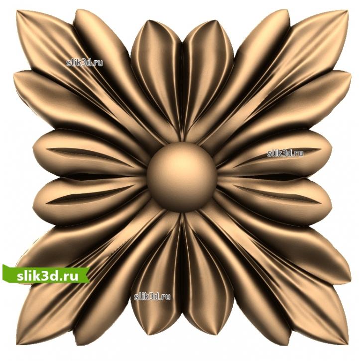 3D STL Розетка №55