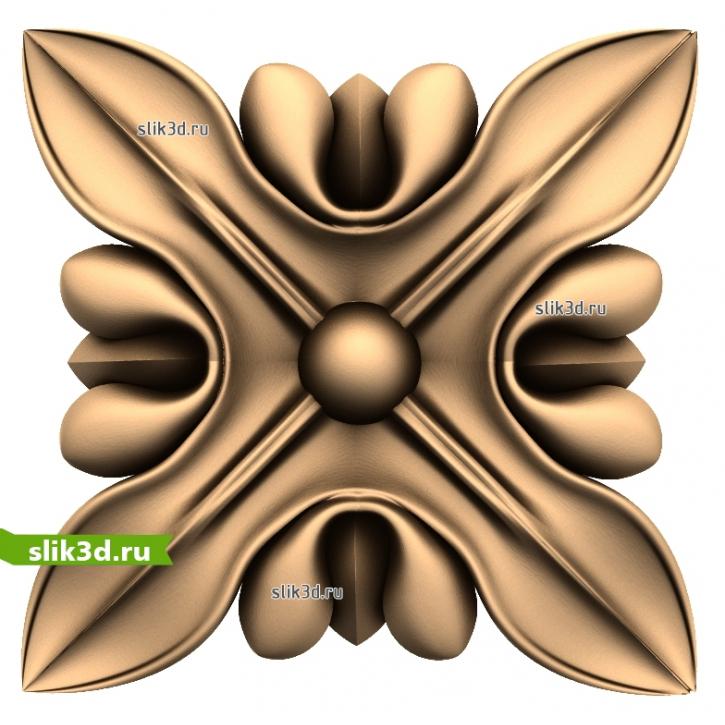 3D STL Розетка №56
