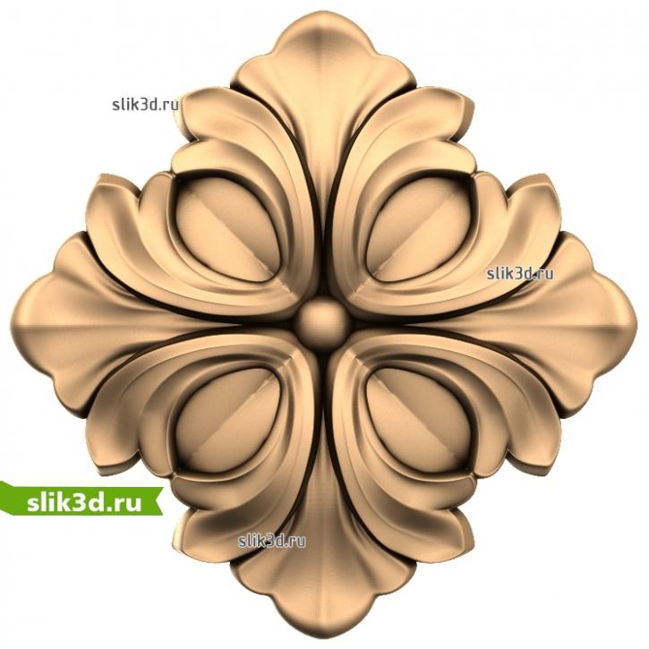 3D STL Розетка №62