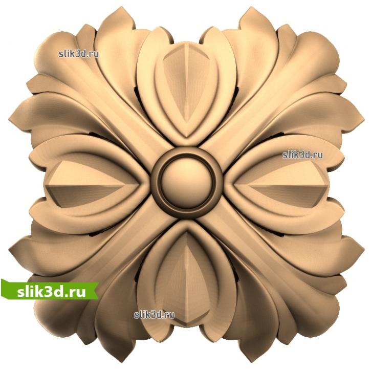3D STL Розетка №63