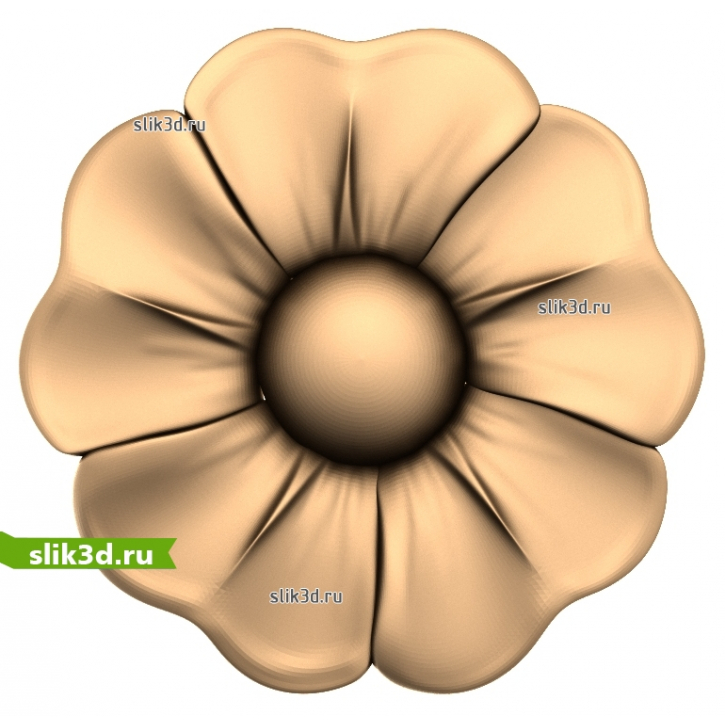 3D STL Розетка №86