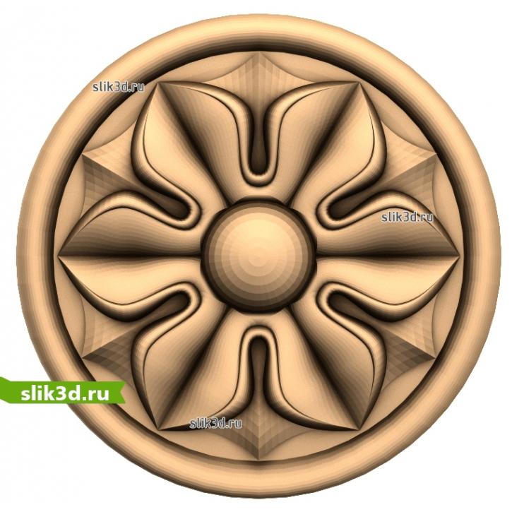3D STL Розетка №89