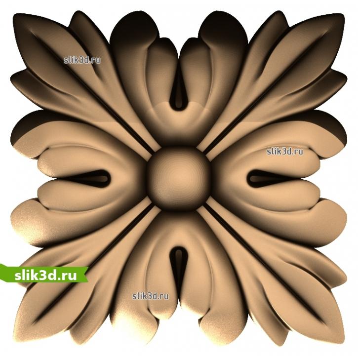 3D STL Розетка №95
