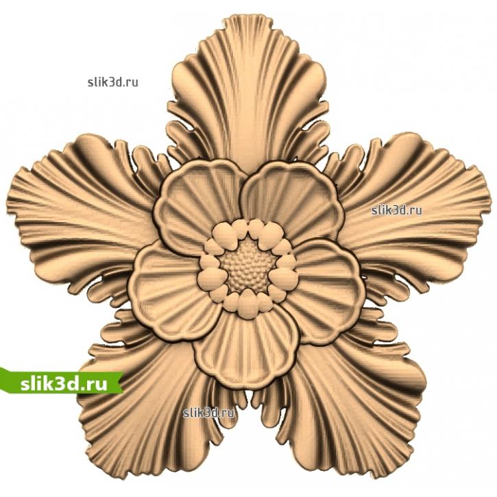3D STL Розетка №26