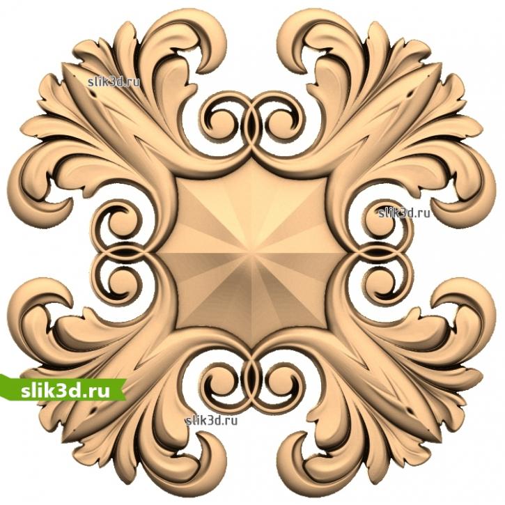 3D STL Розетка №29