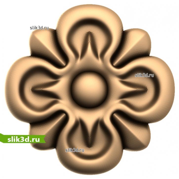3D STL Розетка №31