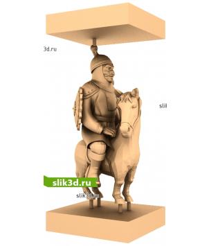 "Монголы ""Лошадь №13"""