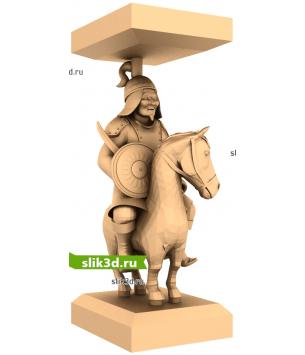 "Монголы ""Лошадь №12"""