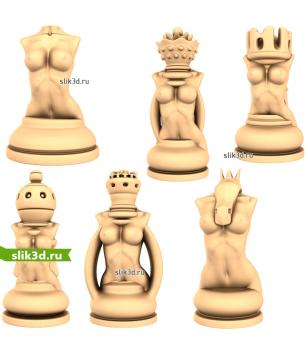 """Шахматный набор """"Эротические"""""""