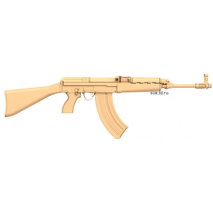 3D STL Автомат AK-47
