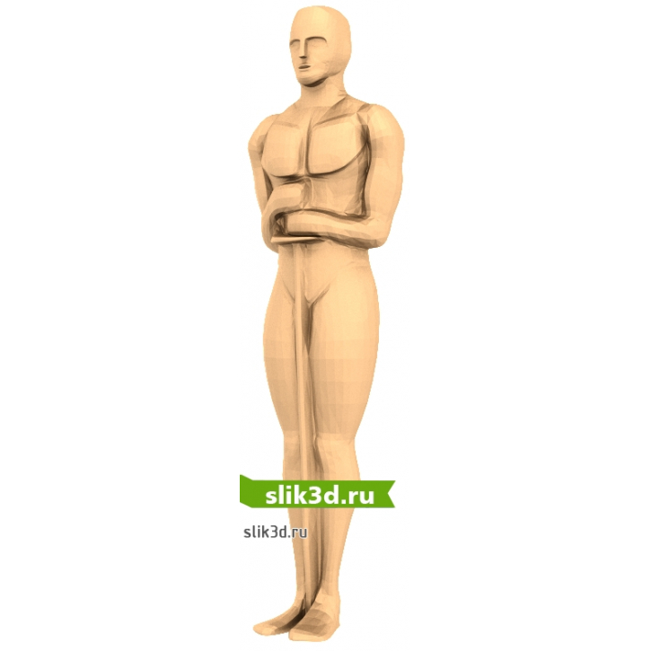3D STL Оскар