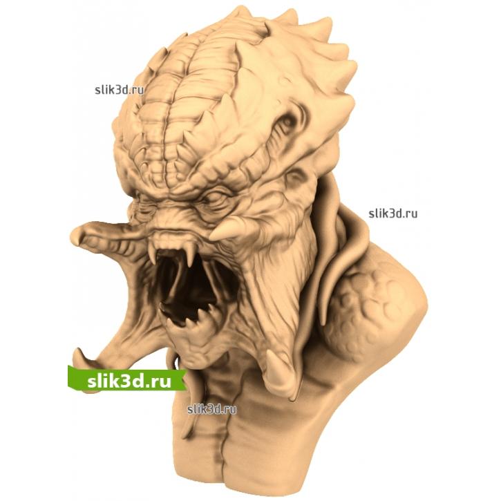 3D STL Монстр